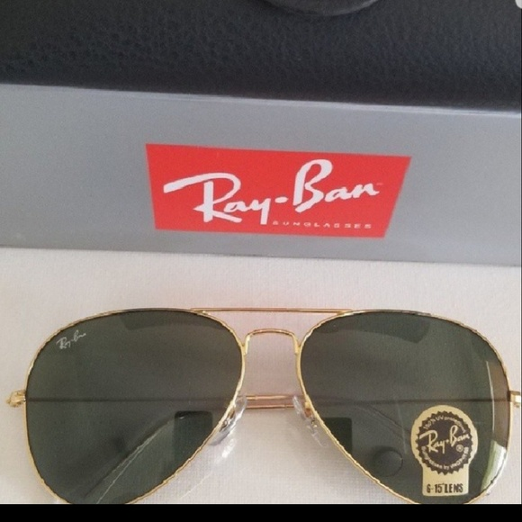 Ray-Ban Accessories   Ray Ban Aviator Classic G15 Lenses   Poshmark ed5b76015f